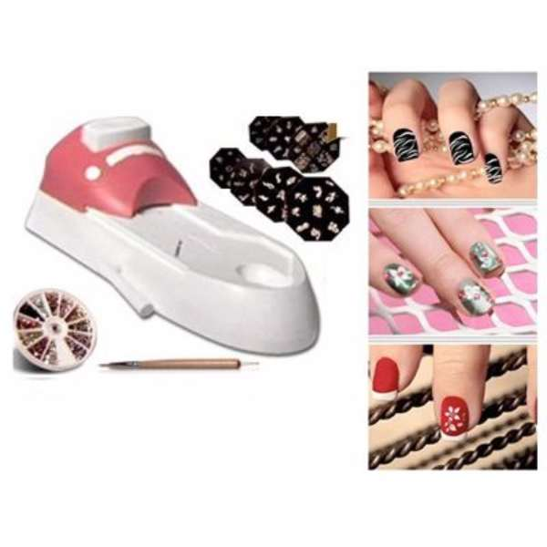 Get Nail Art Stamping Machine In Pakistan Design Your Nails