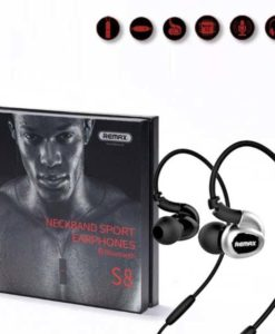 Best Quality Remax S8 Neckband Sport earphones Bluetooth Handsfree by Shopse.pk in Pakistan