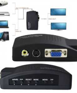 Buy Best Quality AV to VGA converter (Green Box) at Lowest Price in Pakistan 1