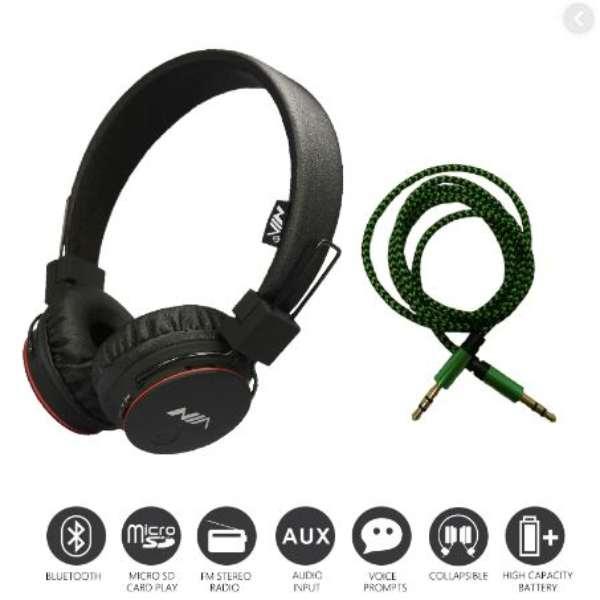 Buy Nia X2 Bluetooth Wireless Headphone In Pakistan Shopse Pk