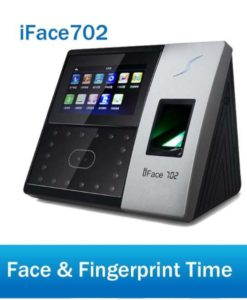 ZKTECO I face 702 face and fingerprint scanning advance attendance machine in pakistan
