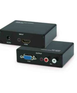 Buy Best Quality Hdmi to Vga With Audio + Sound Conversion box at Lowest Price in Pakistan