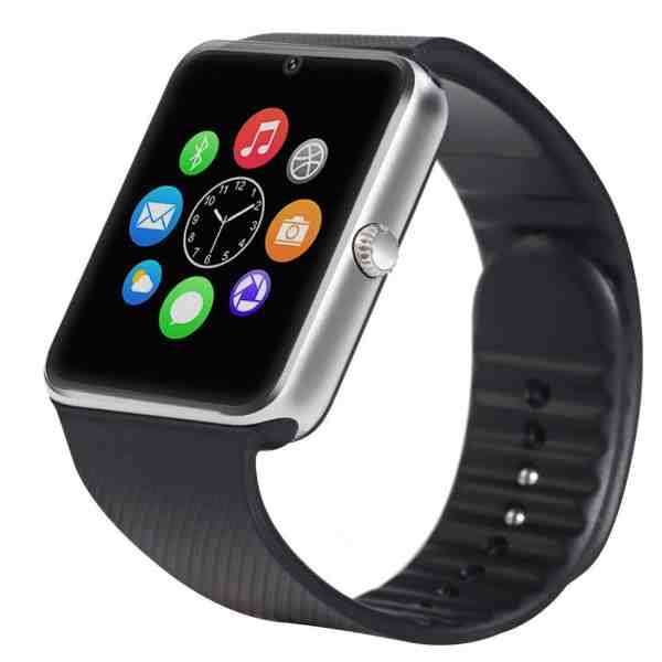 Smart watch GT08(Silver) with GSM slot Bluetooth for iOS and Android ... 96de6f05891a4