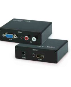 Buy Best Quality Vga To Hdmi Box Converter (Brown Box) at Lowest Price in Pakistan