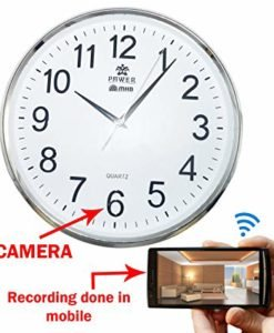 spy camera in wall clock in Pakistan