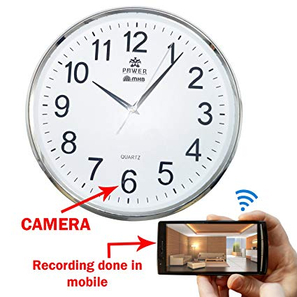 spy camera in wall clock in Pakistan