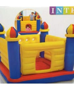 INTEX JUMP BED SIZE- CASTLE DESIGN FOR KIDS IN PAKISTAN