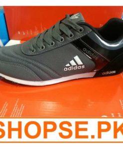 vietnam Made Adidas Black Grey Combination Shoes in Pakistan