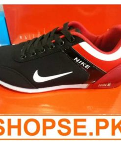 Vietnam Made Nike Black Red Combination Shoes in Pakistan