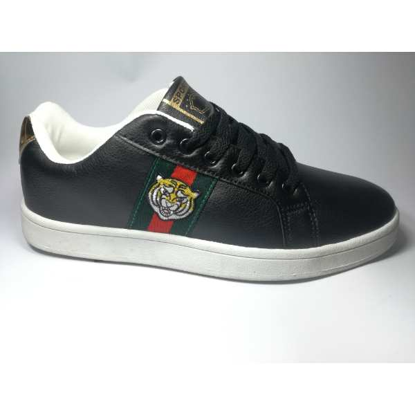 new design genuine shoes popular stores GUCCI ACE WATERSNAKE BLACK SNEAKER MEN SIZES IN PAKISTAN