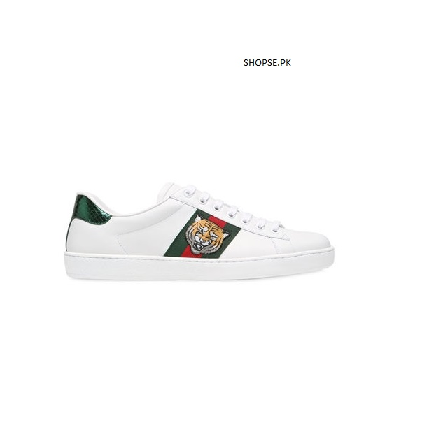 6761fea9760d GUCCI ACE WATERSNAKE WHITE SHOES MEN SIZES IN PAKISTAN