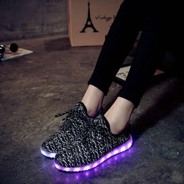 DARK GREY LED SHOES IN PAKISTAN