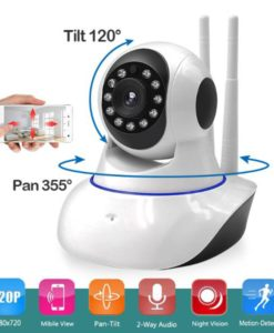 Ip Wireless Camera 360 With 2 Antenna in pakistan (2)