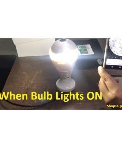 buy hidden bulb camera ligh bulb camera when hidden bulb camera lights on shopse.pk pakistan (1)