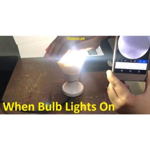 buy hidden bulb camera ligh bulb camera when hidden bulb camera lights on shopse.pk pakistan (1)