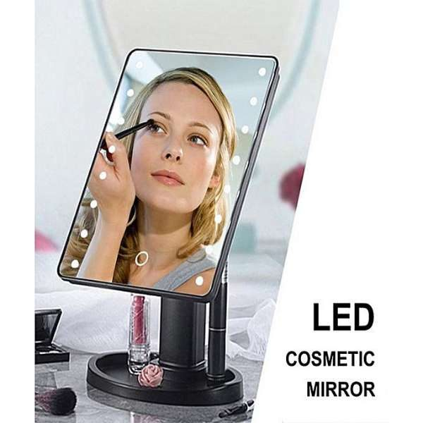 Makeup mirror with lights in PakistanE LED Makeup mirror COSMETIC MIRRO IN PAKISTAN (1)