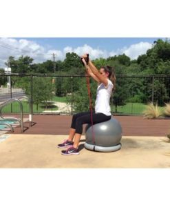 Best Quality Liveup Stable gym ball with fitness band by shopse.pk in pakistan