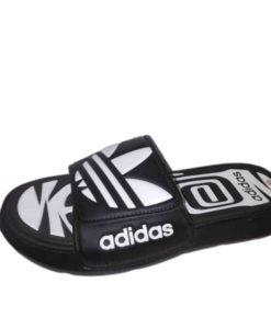 Adidas Black White Combo Slippers in Pakistan