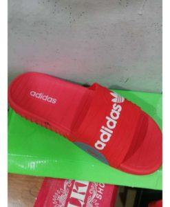 Adidas Red Slipper Men Size in Pakistan