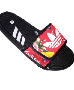 Adidas Slipper Red Black Conmbo in Pakistan