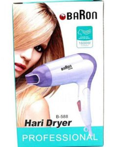 Baron B-588 - Professional Foldable Hair Dryer