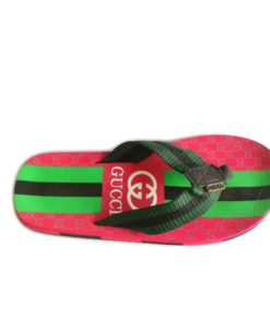 Gucci Red Black Combo Slippers in Pakistan
