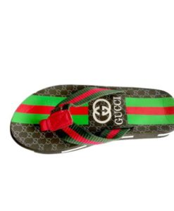 Gucci Red Green Combo Slippers in Pakistan