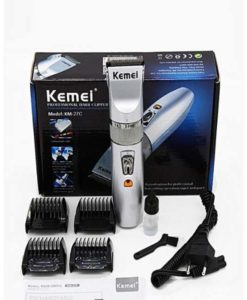 Kemei KM-27C Rechargeable Electric Hair Clipper Trimmer Cordless in Pakistan