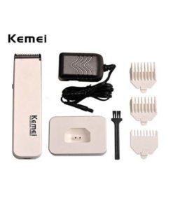 Kemei KM-619 Professional Hair Clipper White in pakistan