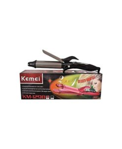 Kemei KM-1298 Hair Straightener and Curling Iron -black in pakistan