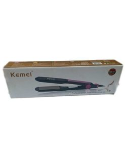 Kemei Kemei KM-428 - Professional Hair Straighterner - Black & purple in Pakistan