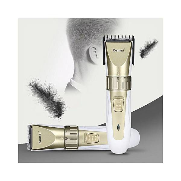 Kemei Km-0721 Adjustable Rechargeable Hair Clipper Trimmer