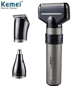 Kemei Km-1210 (Washable Nose,Hair And Mustache Trimmer 3 In 1) in pakistan
