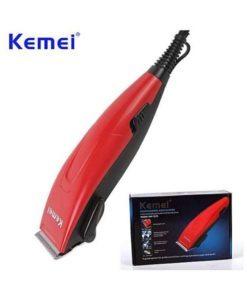 Kemei Km-1620 Professional Electric Hair Trimmer - Red in Pakistan