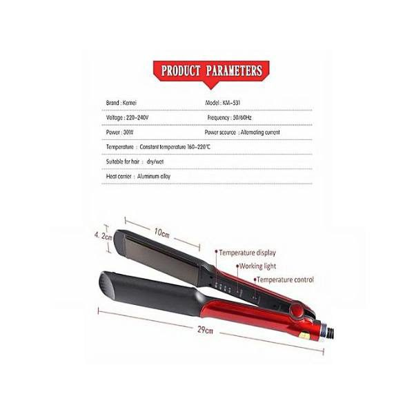 Kemei Km-531 Professional Hair Straightner in pakistan