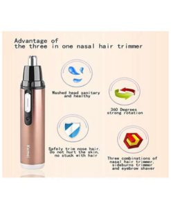 Kemei Km-6619 Professional Rechargeable Nose And Ears Trimmer For For Men in Pakistan