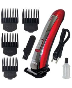 Buy Best Kemei Km-7055 Trimmer With 4 Different Size Clippers at Best price in Pakistan by Shopse.pk