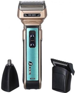 Kemei Km-Q601 3 In 1 Electric Hair Trimmer,Shaver & Nose Trimmer in pakistan