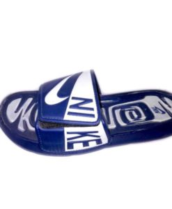 Nike Slipper Blue White Combo