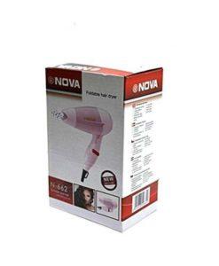 Nova N-662 - 1000W Foldable Hair Dryer in pakistan