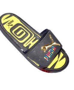 Puma Slipper Black Yellow Combo in Pakistan