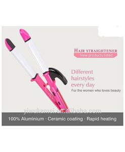 Shinon Sh-8076 2 In 1 Professional Hair Straightener And Curler in pakistan