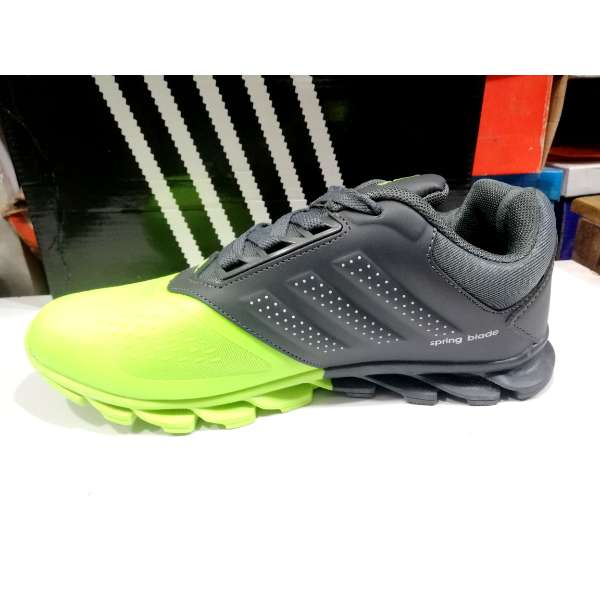 reputable site b4197 b6821 Buy AAA+ Adidas Spring Blade Shoes Green Grey in Pakistan   Shopse.pk