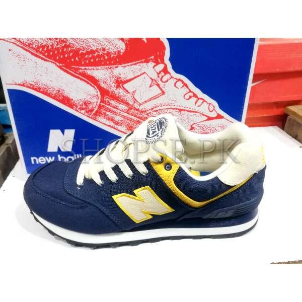 Nike New Balance Blue Yellow Combination