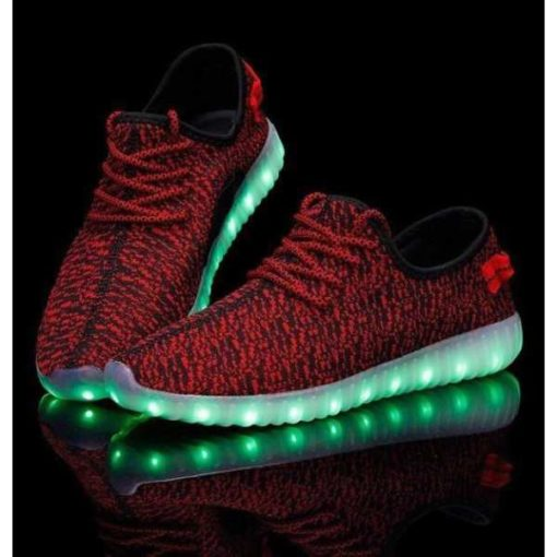 red led light rechargeable shoes in Pakistan 1