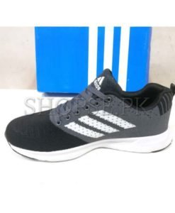Adidas Black Grey Large Size Shoes for men in Pakistan (2)