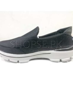 Black skechers shape shoes in PAKISTAN (3)