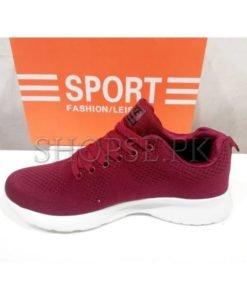 Nike Air Shoes Maroon in Pakistan (2)
