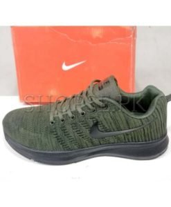 Nike Green Casual Large Size Shoes for Men