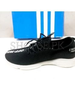 Off White Black Casual Shoes in Pakistan (1)